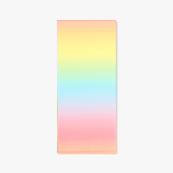 Ombre pastel tissue paper - 3 sheets