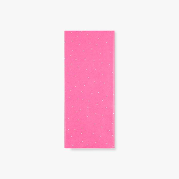 Pink sparkle tissue paper - 3 sheets