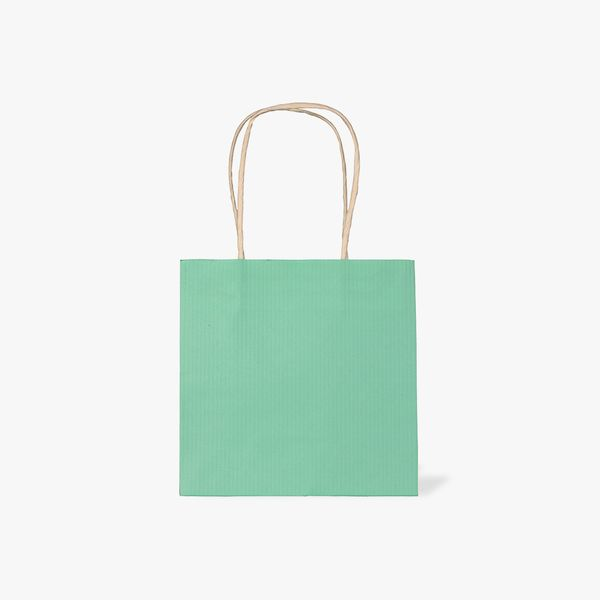 Small pastel kraft gift bags - pack of 5