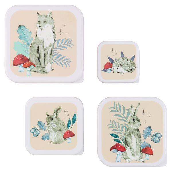 Into The Woods Snack Boxes - set of 4
