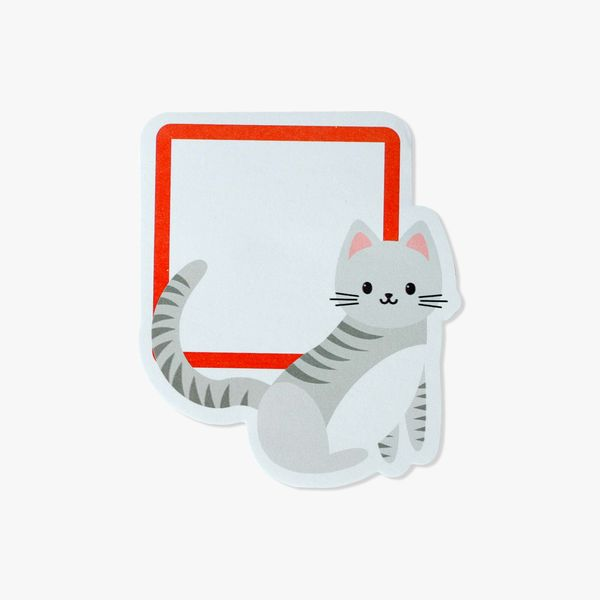 Cat square sticky notes