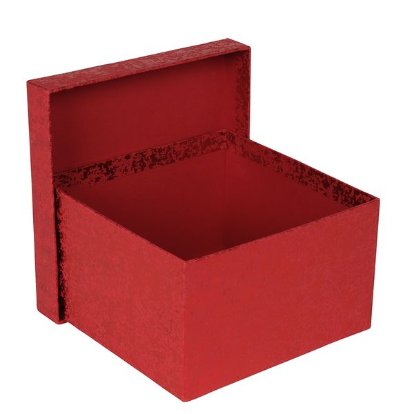 Red crackle large gift box