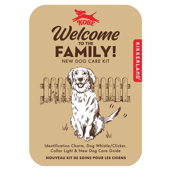 Dog welcome to the family kit