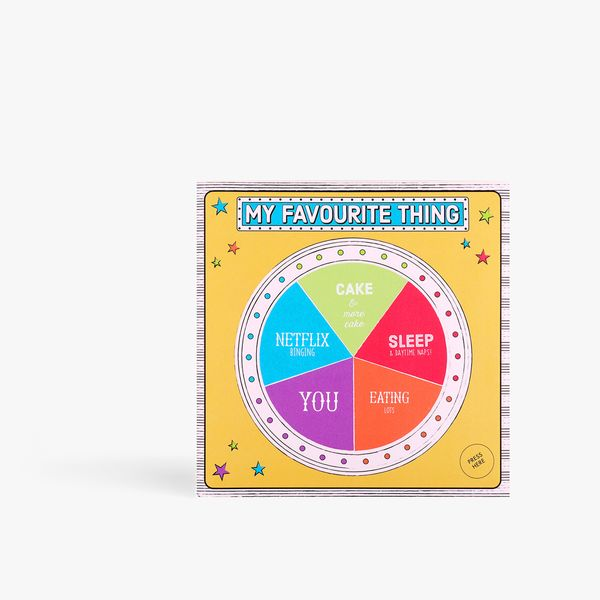 Favourite Thing Light Up Wheel Card