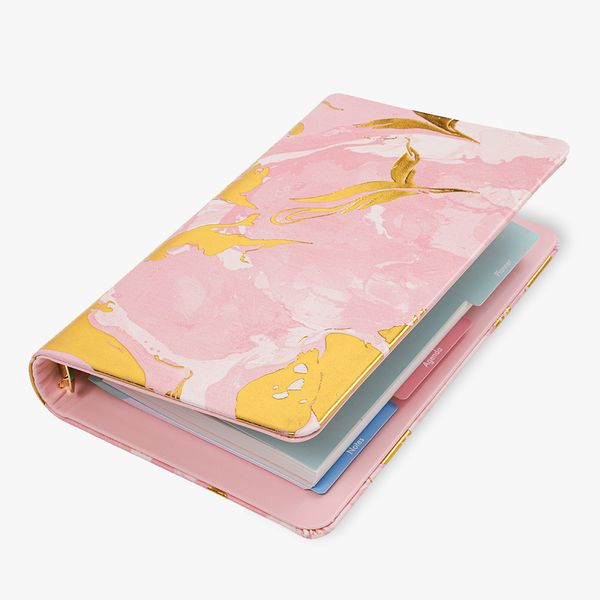 A5 marble lifestyle planner