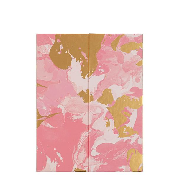 Pink marble list book