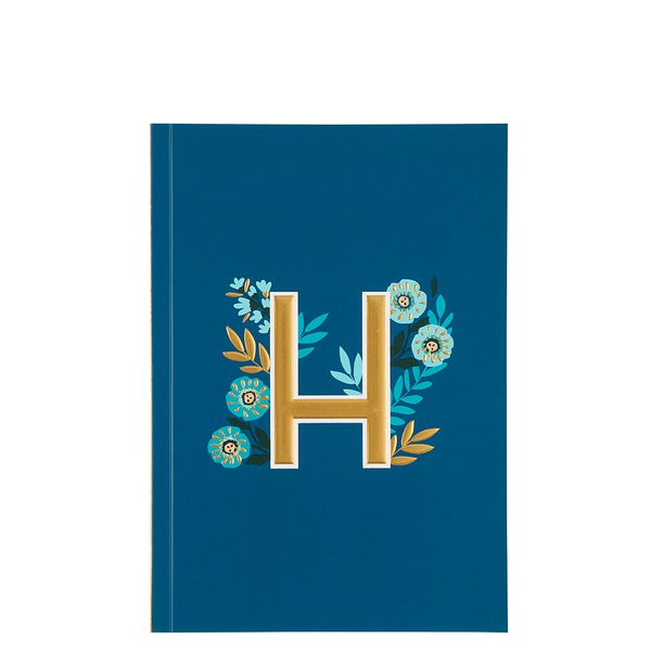 Letter H Notebook