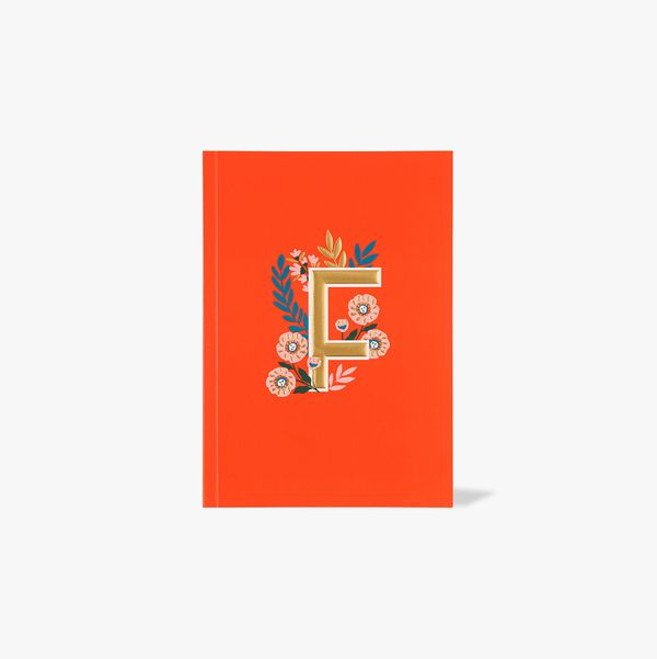 Letter F Notebook
