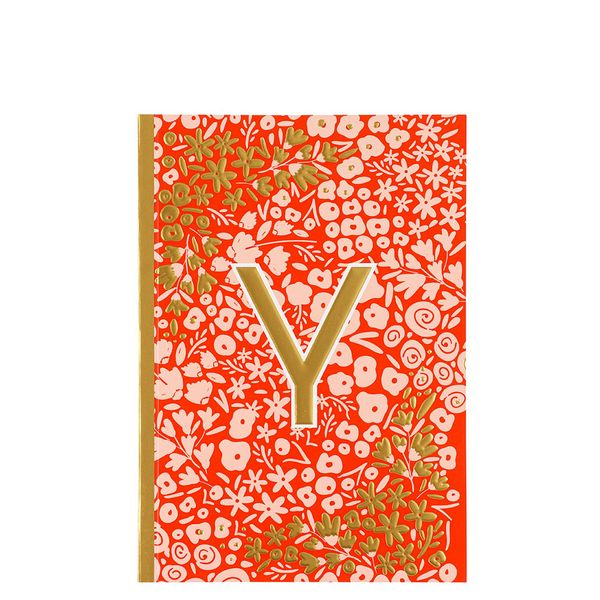 Letter Y Notebook