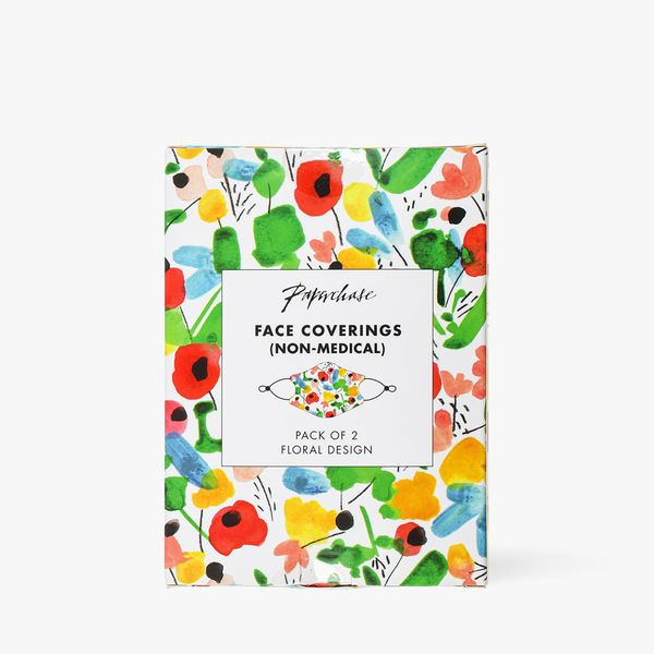 Floral Face Coverings - Pack of 2