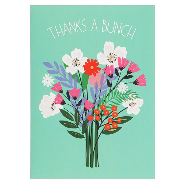 Thanks a bunch notecards - pack of 10