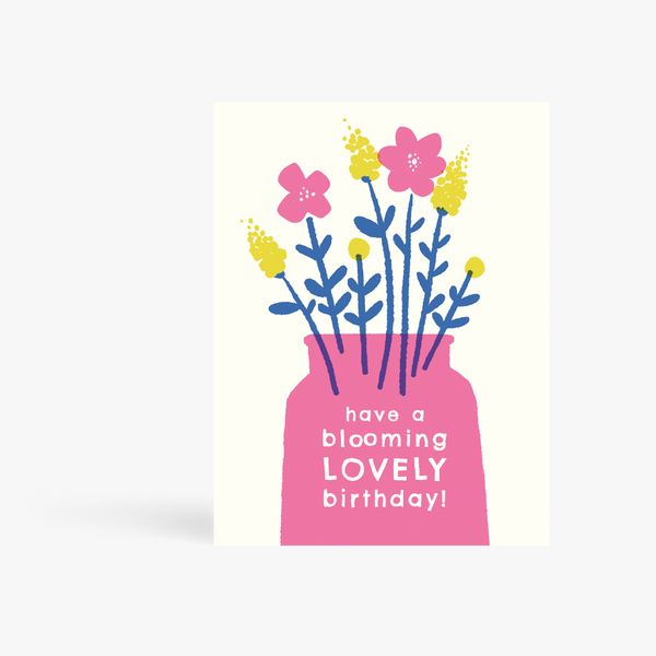 Have A Blooming Birthday Card