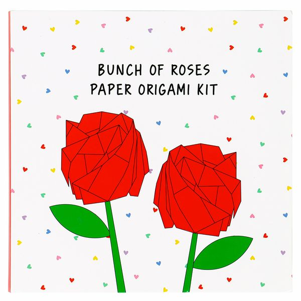Make your own origami bouquet