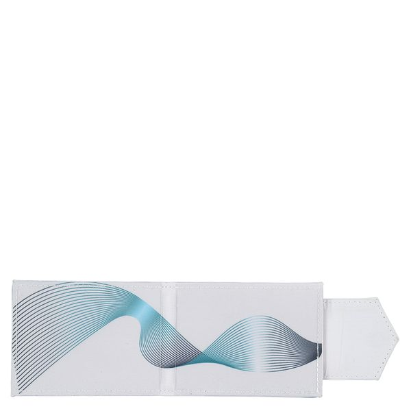 Geometric print pass case holder