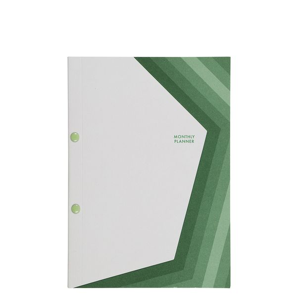 Layered monthly planner