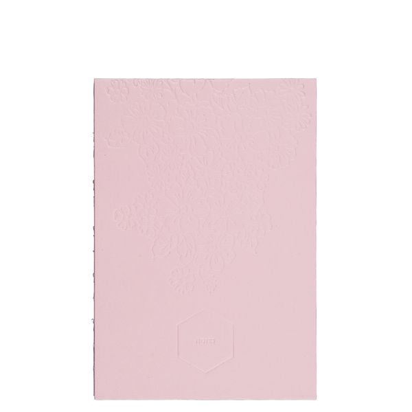 A5 Embossed floral notebook