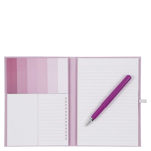 A6 Multi list book with pen