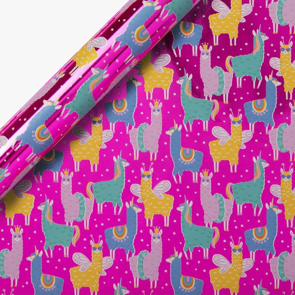Llamazing Wrapping Paper - 3m