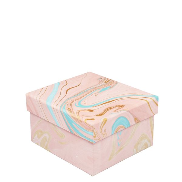 Pink marble small box