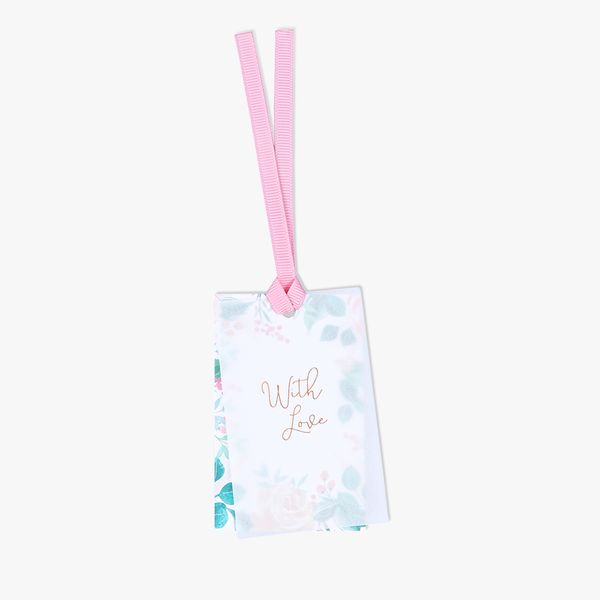 Watercolour floral layer gift tags - 3 pack