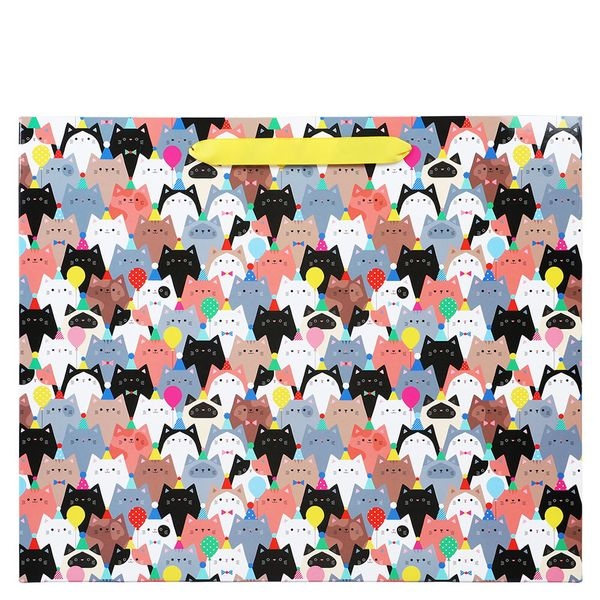 Party cats large gift bag