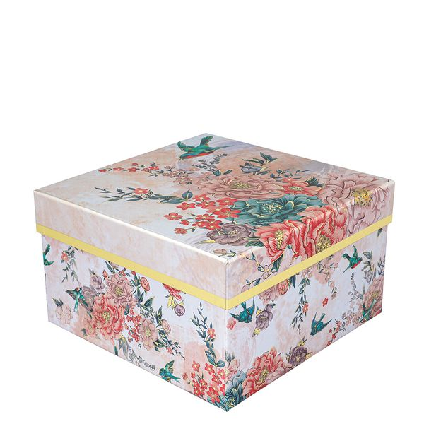Swallows floral large box