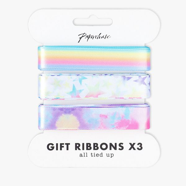 Ombre pastel ribbons 3m - 3 pack