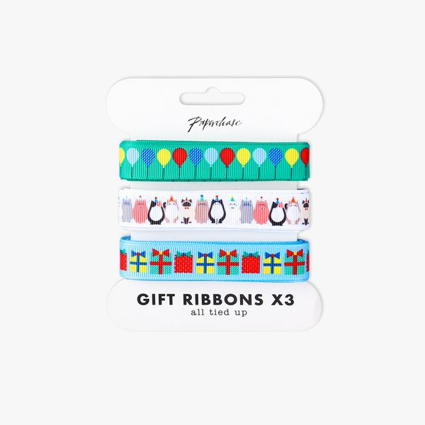Party cats ribbons 3m - 3 pack