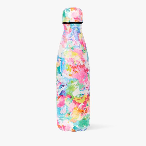 Abstract Metal Water Bottle