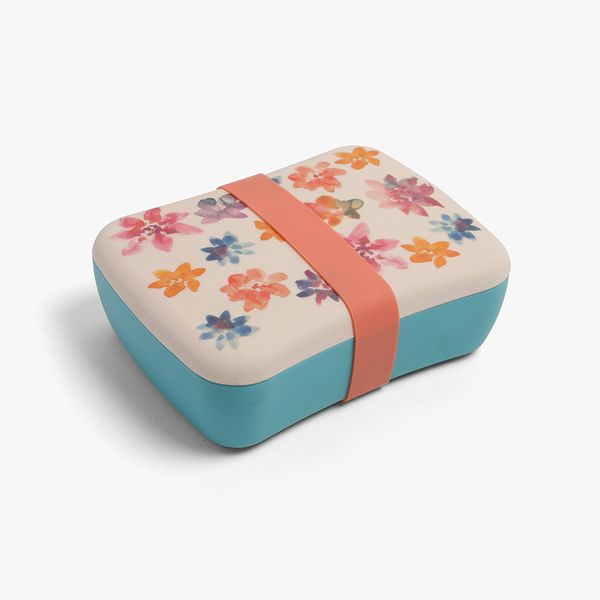 Meadow Floral Bamboo Lunch Box