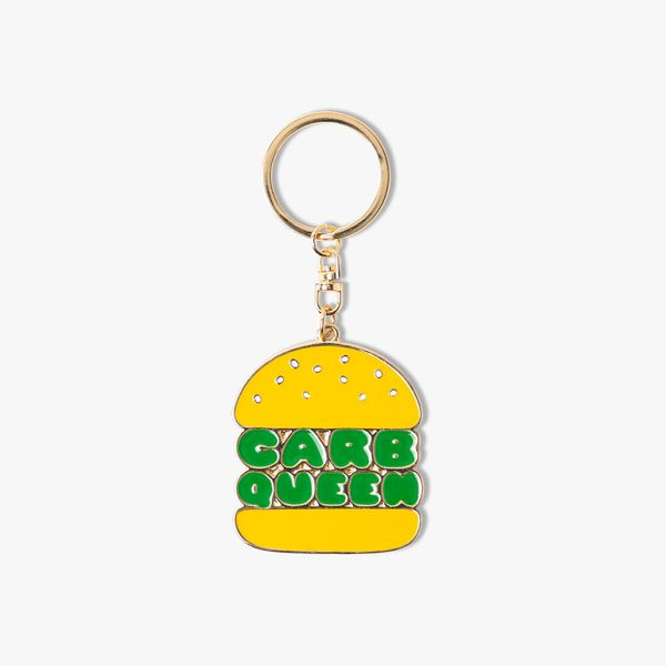 Carb Queen Keyring