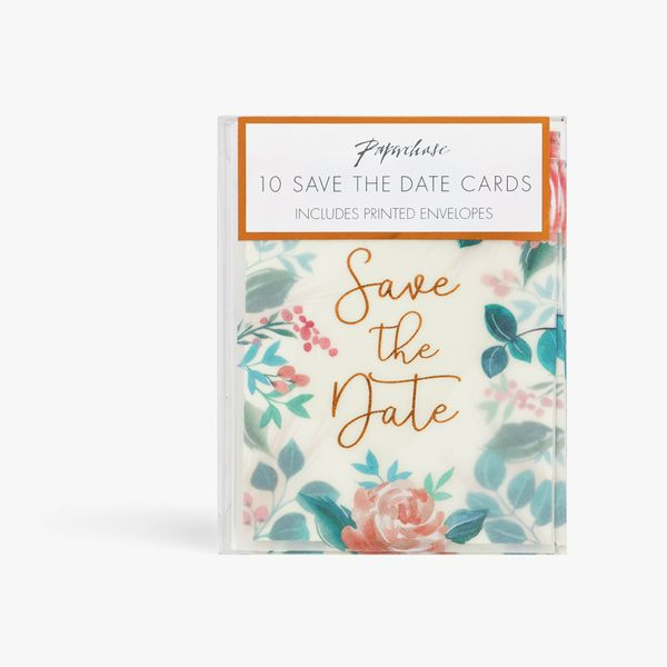 Pampas Save The Date Cards