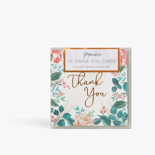 Pampas Thank You Cards