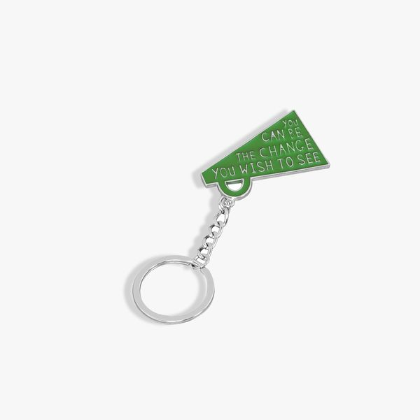 Be The Change Keyring