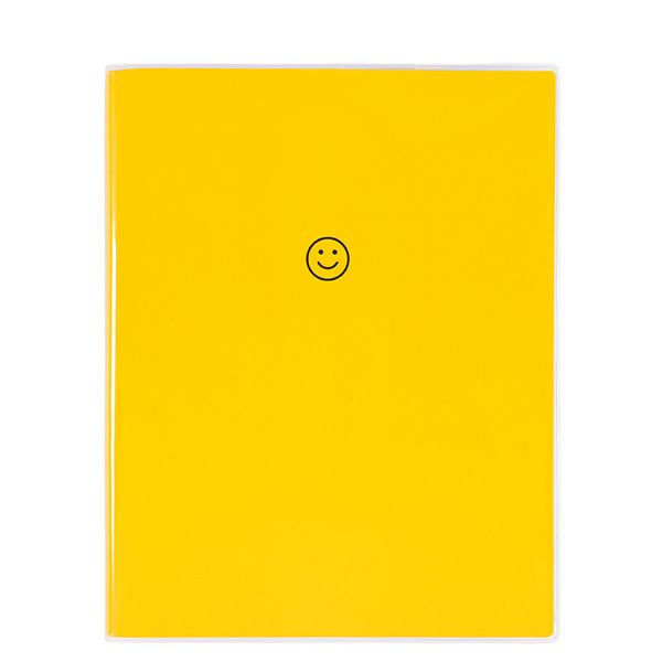8x10 Smiley face notebook