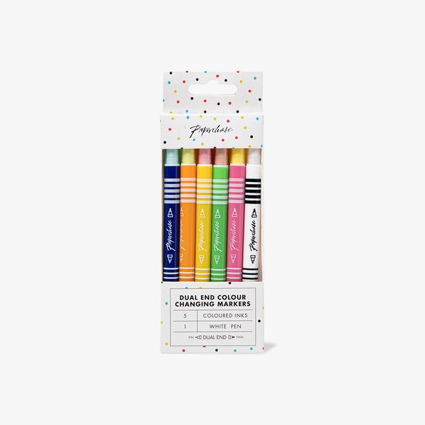 Dual-Ended Colour Changing Pens - Pack of 6