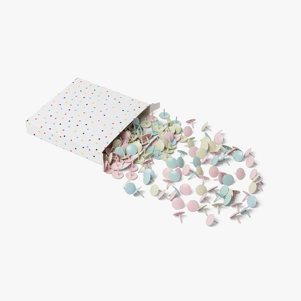 Pastel Push Pins - Pack of 300