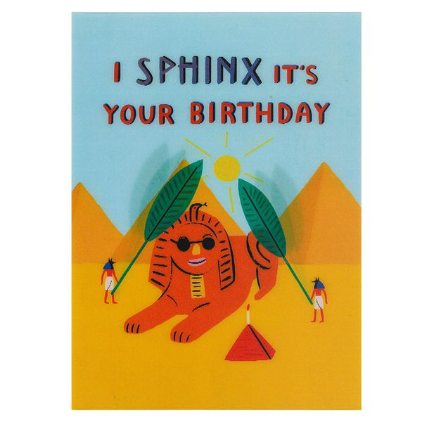 I Sphinx It's Your Birthday Card