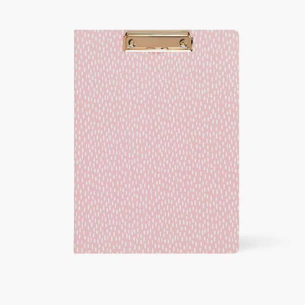 A4 Wildflower Padfolio in Pink