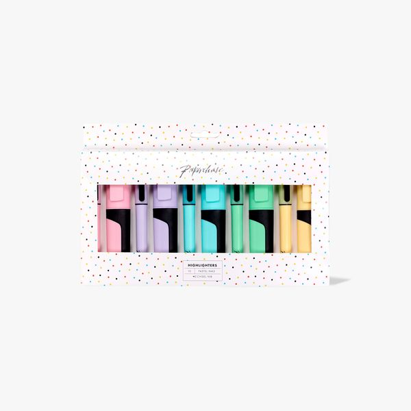 Pastel Highlighters - Pack of 10