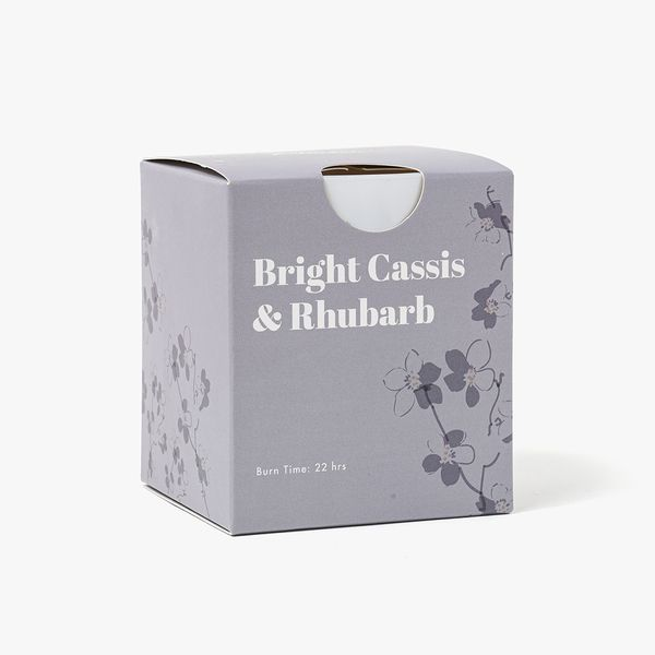 Cassis & Rhubarb Candle