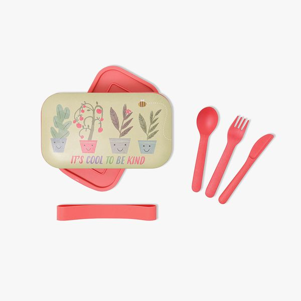 Bee Happy Bamboo Lunch Set
