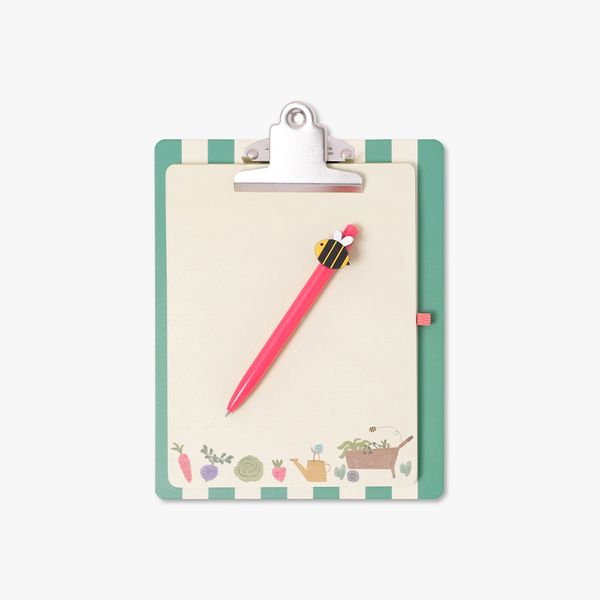 8x10 Bee Happy Clipboard and Pad