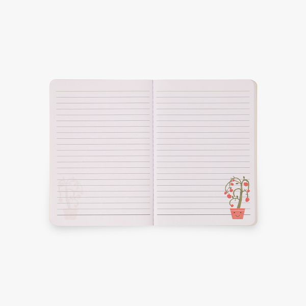 A6 Bee Happy Notebooks - Set of 3