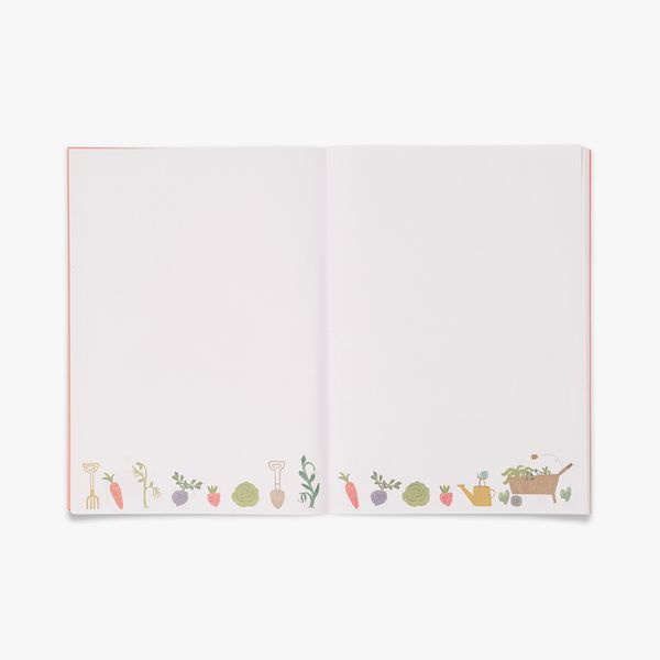 A4 Bee Happy Fabric Notebook
