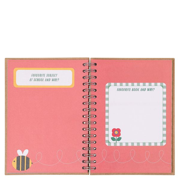 A6 Bee Happy Journal