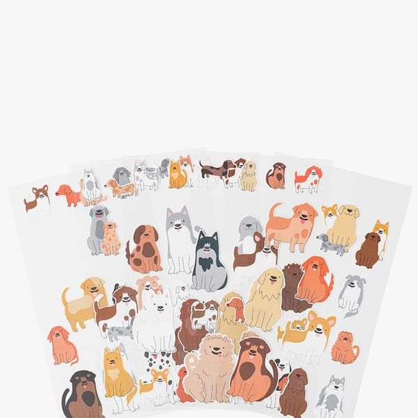 Devoted To Dogs Stickers