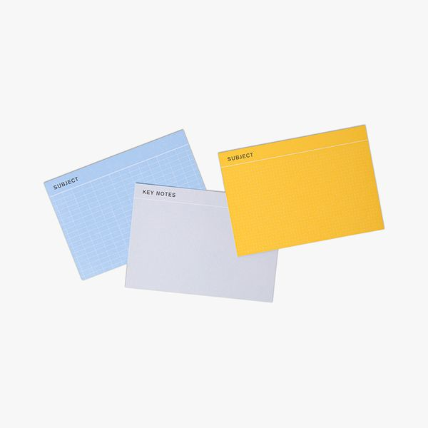 Subject Revision Cards