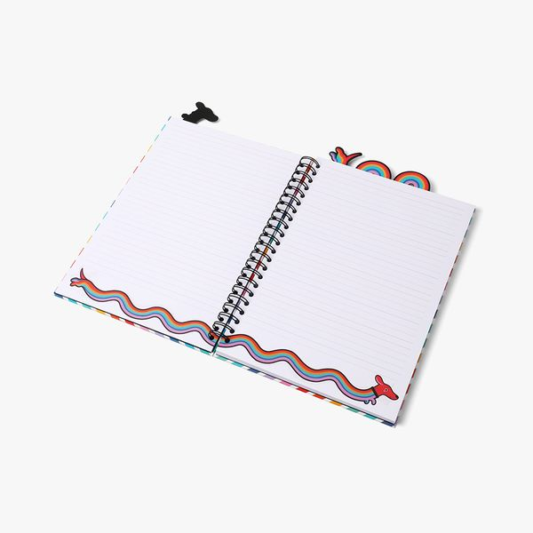 A4 Happy Days Subject Notebook