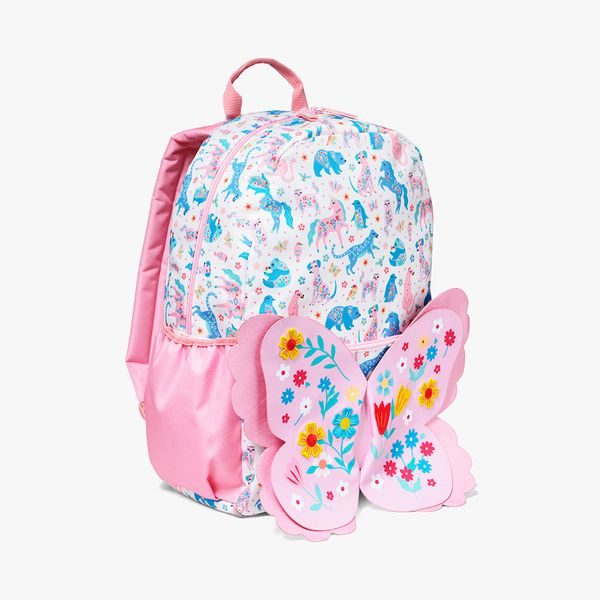 Floral Friends Backpack With Wings